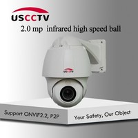 2.0MP hundred meters infrared medium speed ball