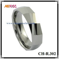 Comfort Fit High Quality Primary Color Tungsten Poison Ring
