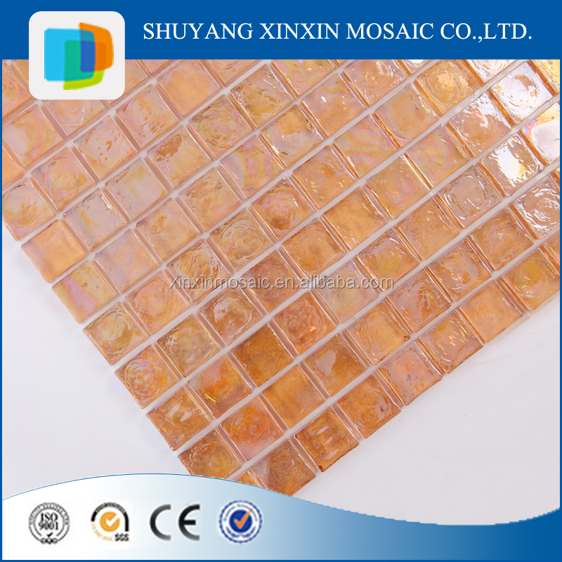 construction material gold mosaic for bathroom wall tiles