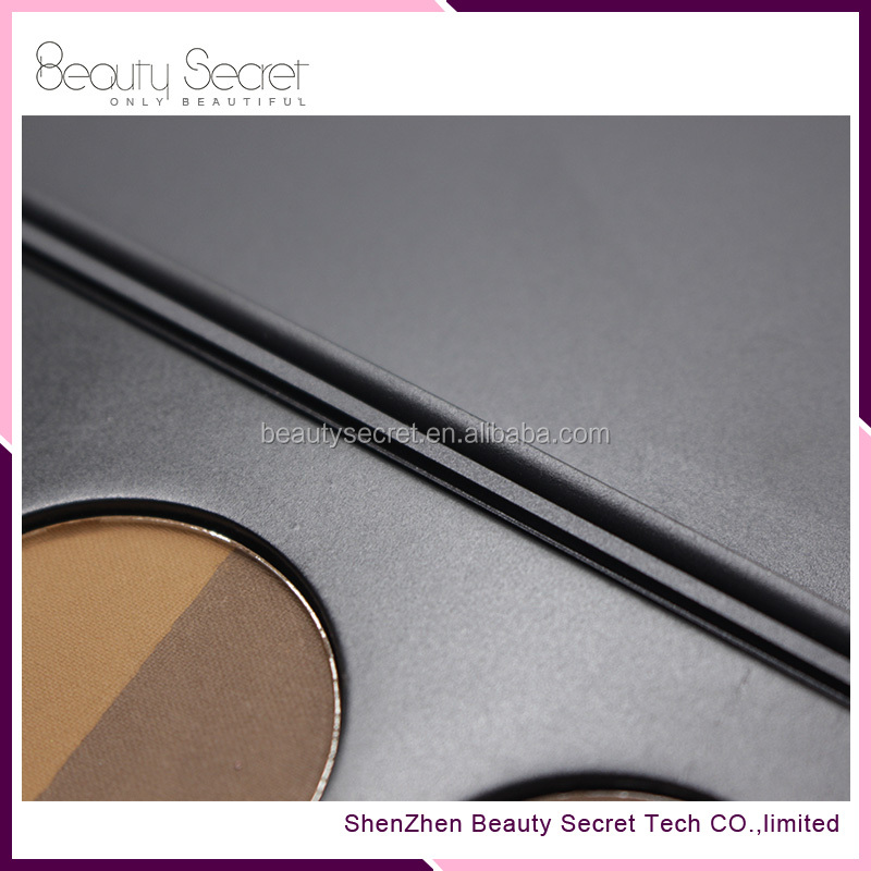 wholesale private lable 9 color brow pomade palette for eyebrow pomade