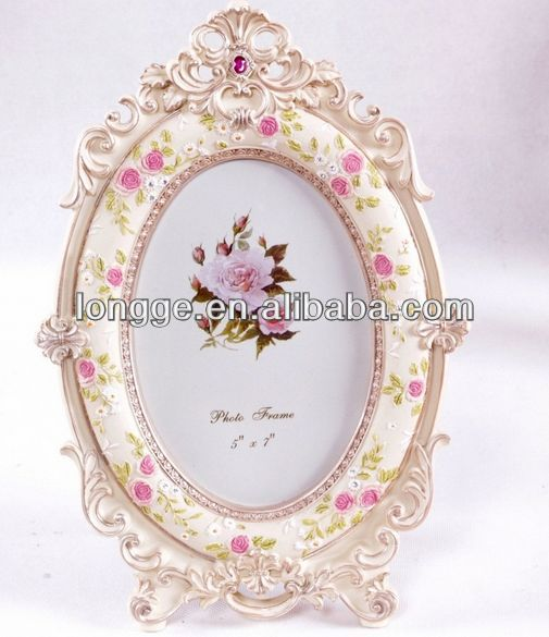 Wholesale Oval Cream Shabby Chic Photo Frame