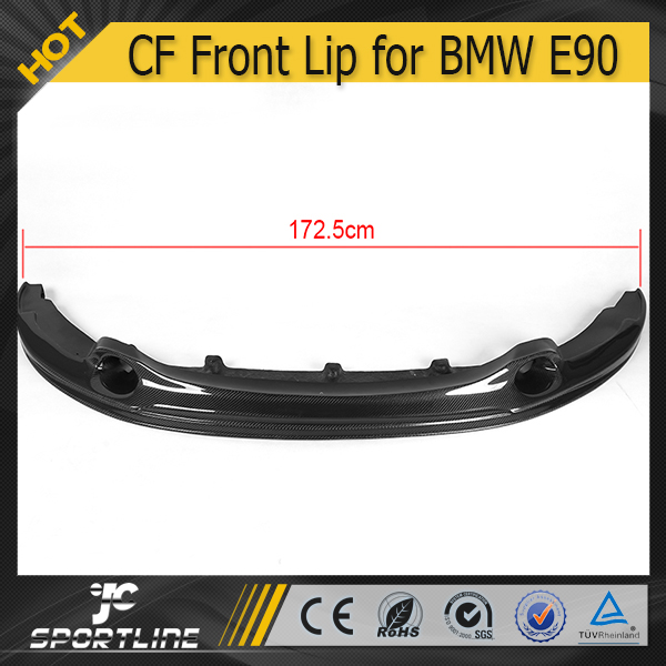 JC Auto Parts Carbon Fiber E90 LCI to 1M Front Lip fit for BMW E90