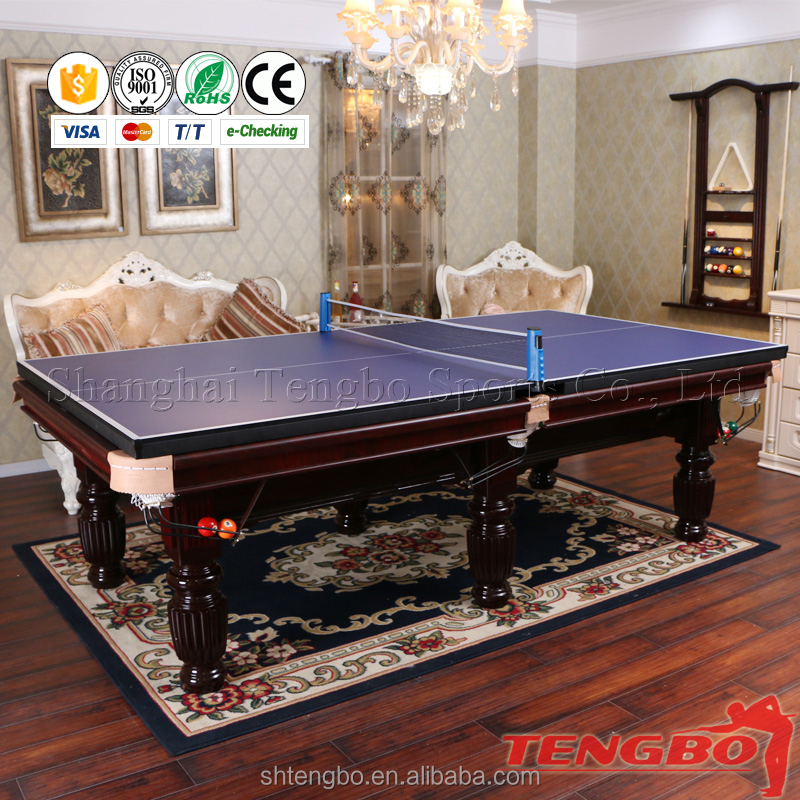 Economic 8ft MDF billiard table and 3 cushions billiard table for sale