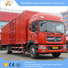 Special discounted 4x2 new and stock DongFeng 10m van cargo truck