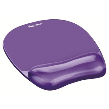 2019 Hot Promotional mouse pad Gel Crystal  Mouse Pad-Wrist Rest Purple Ergonomic jelly  mouse pad