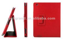 For New iPad 3 rd Generation PU Folio Cover Leather Case Bag with Stand