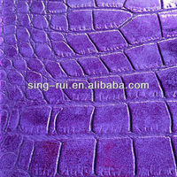 Synthetic Leather for Bags(Crocodile embossing)