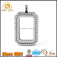 Wholesale High Quality Zinc Alloy Crystal Pane Photo Frame Keychains