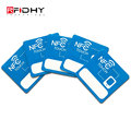 Free Sample Two Chip In One Tag 40mm RFID NFC Hybrid Sticker