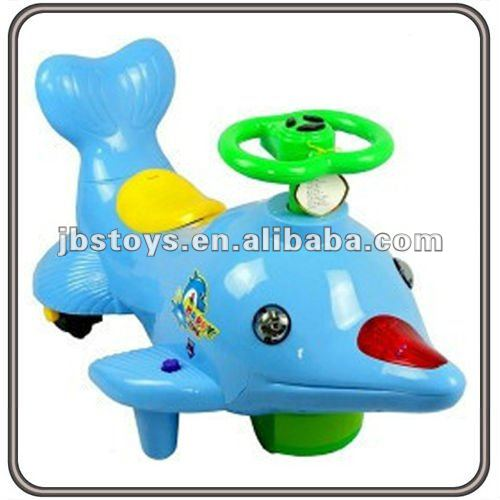 Kids Electric Dolphin Plastic Ride on Toy