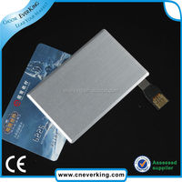 hot selling credit card type usb flash drive with 16GB