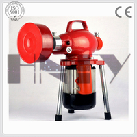 Household and civil pipe system drain cleaner/cleaning machine
