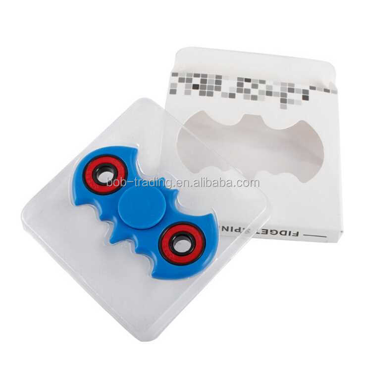 good factory Promotion Gift Bat Shape Hand Spinner coloful