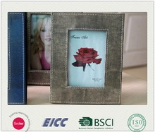 Leather Photo Frames For Picture 2015 May new coming photo frame BSCI factory,