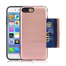 cell phone case with Credit Card Slot for iPhone 5/SE for iPhone 6/6s