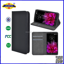 Book Style Wallet Case for LG G Flex 2, Magnetic Closure Wallet Flip Case with Stand for LG G Flex 2 --- Laudtec