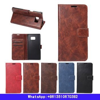 Business leather case For Samsung galaxy note 7