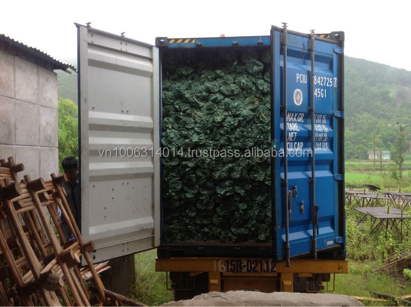 2100 packages per container of Wooden broom stick origin of Vietnam