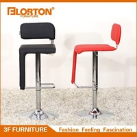 Durable Synthetic Leather And Chromed steel Bar Stool Pictures