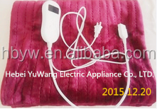 220V rechargeable heated blankets/Electric blanket with USB powered <strong>heater</strong>/cotton/wool electric blanket