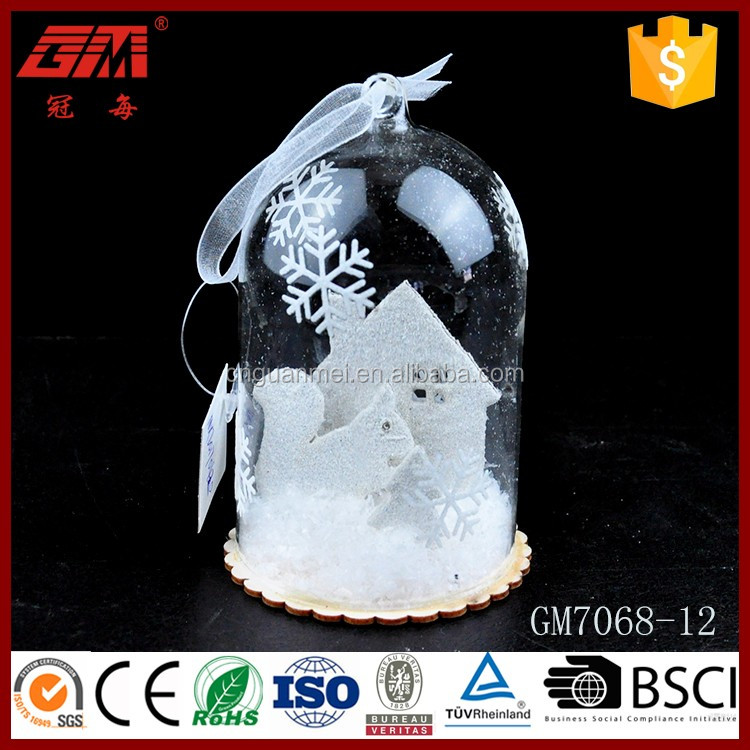 Wholesale decorative hanging glass dome crafts