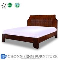 Professional FoShan Factory solid wood bed furniture Rounded edges safe designs elegant bedroom furniture sets