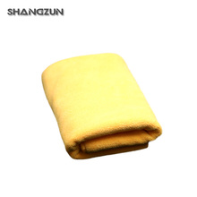 Solid Color Thicken Home Supplies Microfiber Car Drying Towel