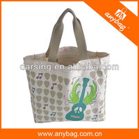 Wholesale eco natural cotton canvas tote bag shopping