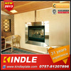 Kindle 31 years experience electrical indoor artificial fireplace with glass