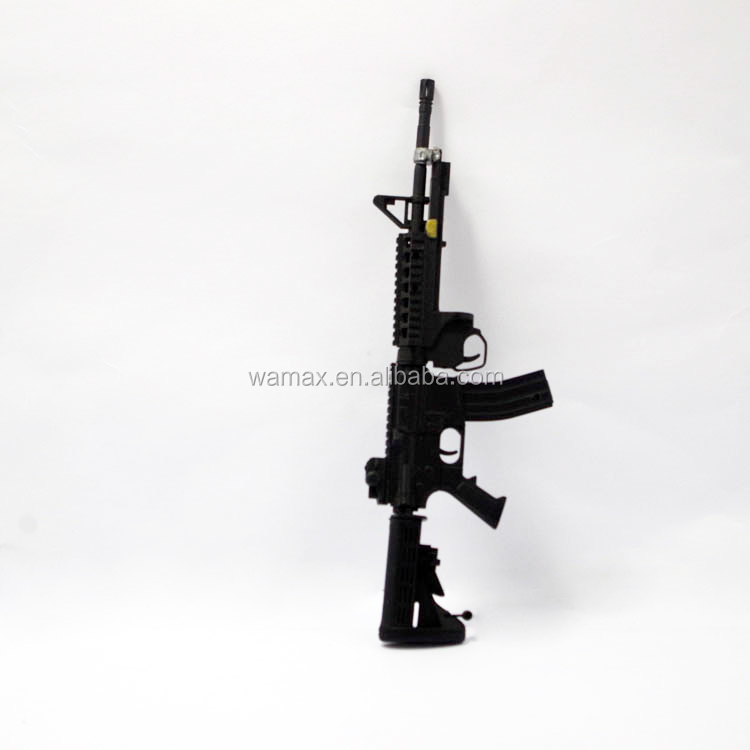 Counter-Strike plastic guns 3D M4A1 model Figures stocks military accessorices collection OEM&ODM 1/6 pvc manufacture factory