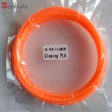 2018 China supply cheap 1.75mm free sample 3d printing filament / 3d printer pen filament refill pack
