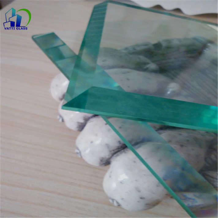 Customized cluster bevel clear float glass beveled glass pieces