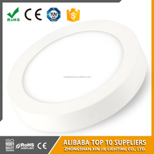 Energy saving led panel light 18w low prices surface mounted led panel lighting round led light panel