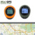 100% satellite mini gps compass location finder keychain travel gps tracker without sim card