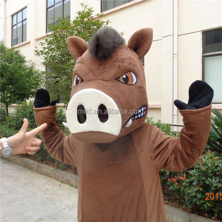 Game playing customized timon & pumba costume for adult