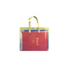 women high quality clwear pvc transparent tote handbags