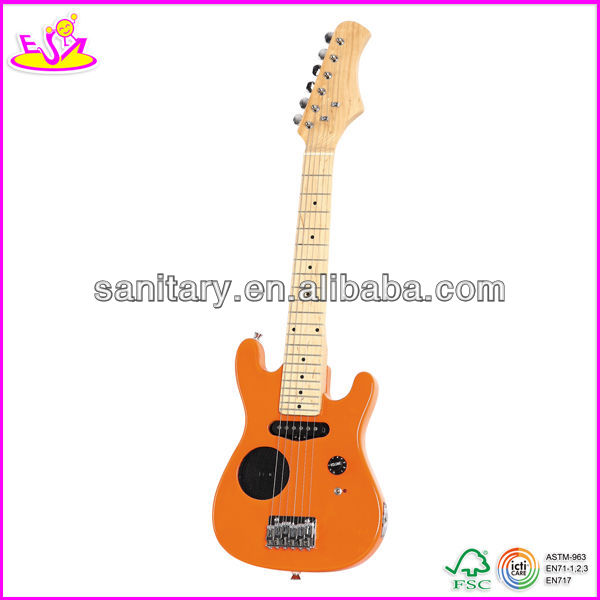 2015 New wooden guitar, popular 30'' wooden guitar and hot selling wooden guitar with speaker W07H012