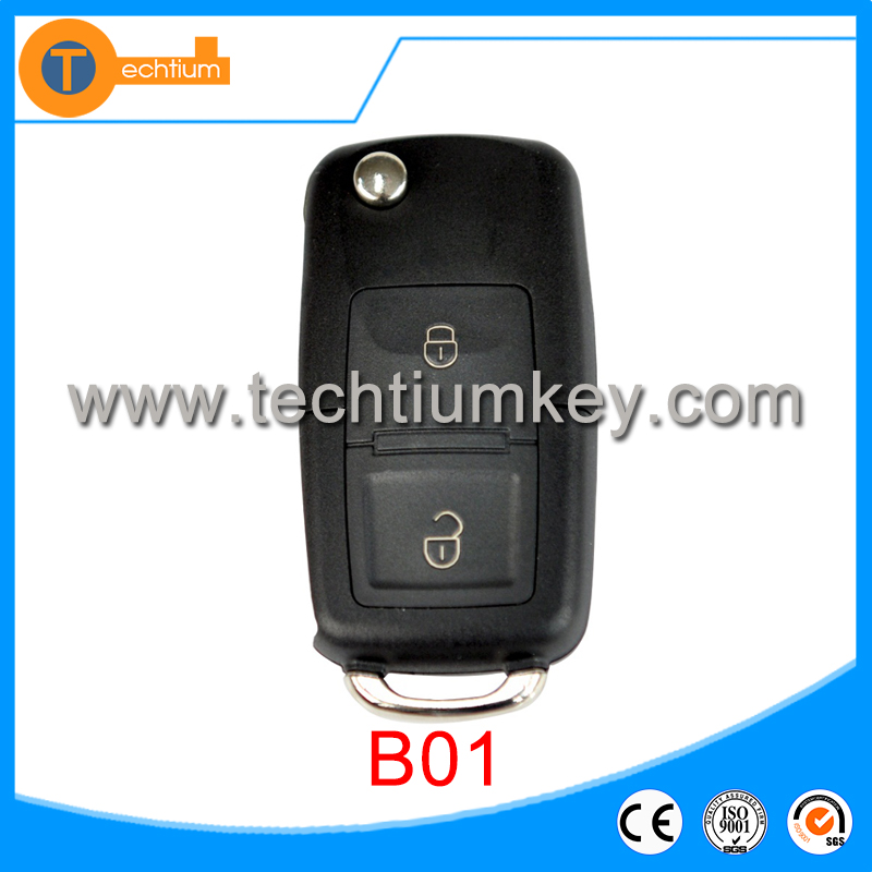 Techtium good price Standare B01 2 button remote control for KD300 and KD900 to produce any model remote maker key