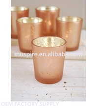 Custom wholesale hot sell bulk glass votive candle holders