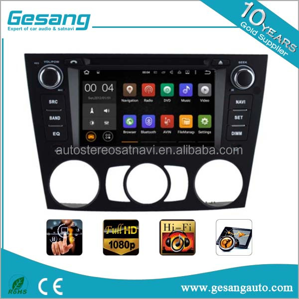 Dashboard placement 7 inch Android 5.1 car dvd player for BMW 3 series Manual Air E91 2005-2012 with gps 3G wifi BT