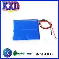 Small 3.7v 8000 mah battery polymer li-ion rechargeable