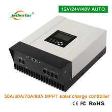 Solar panel/battery/load output 48V solar charge controller mppt 60amp