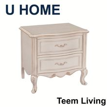 U HOME french style antique furniture/bedside tables/modern bedroom furniture H212