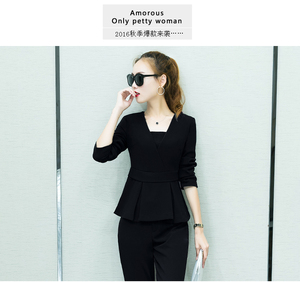 China Supply Spring Women Ladies Custom Made Jacket+Pants Tuxedos New Style Work Suits
