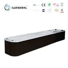 Sunrans Wholesale products Hot sell 12 m big swimming spa for 6 persons