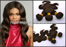 Unprocessed AAAAA Human Hair Virgin Peruvian Hair