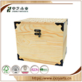 BSCI 6 Bottles Wooden Wine Packing Box Crate Box