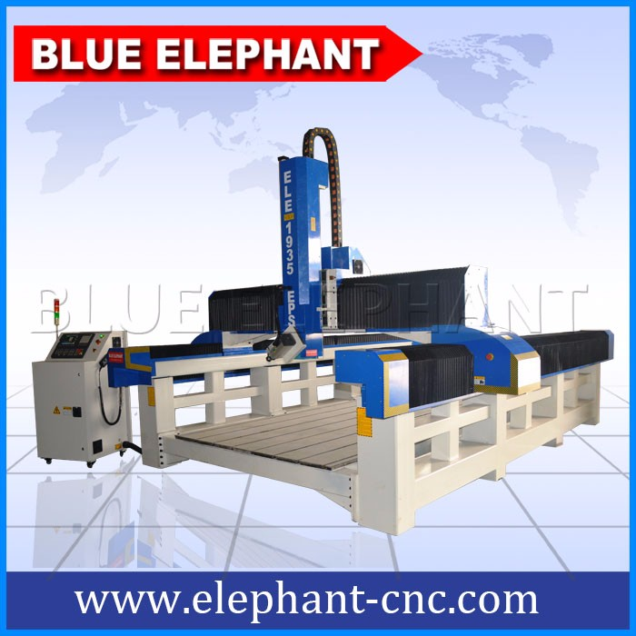 1935 Styrofoam 4 axis cnc wood router engraver machine , cnc machine 4 axis mould foam