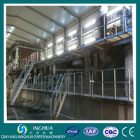 2300mm kraft paper roll/fluting paper/ corrugated paper machine price