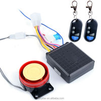 New Anti-theft Security Bike Motorcycle Alarm System Remote Control 12V